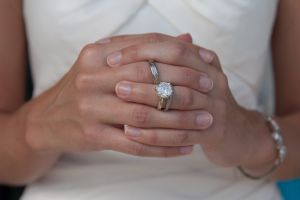 mandy's hands with rings