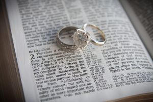 rings on the bible